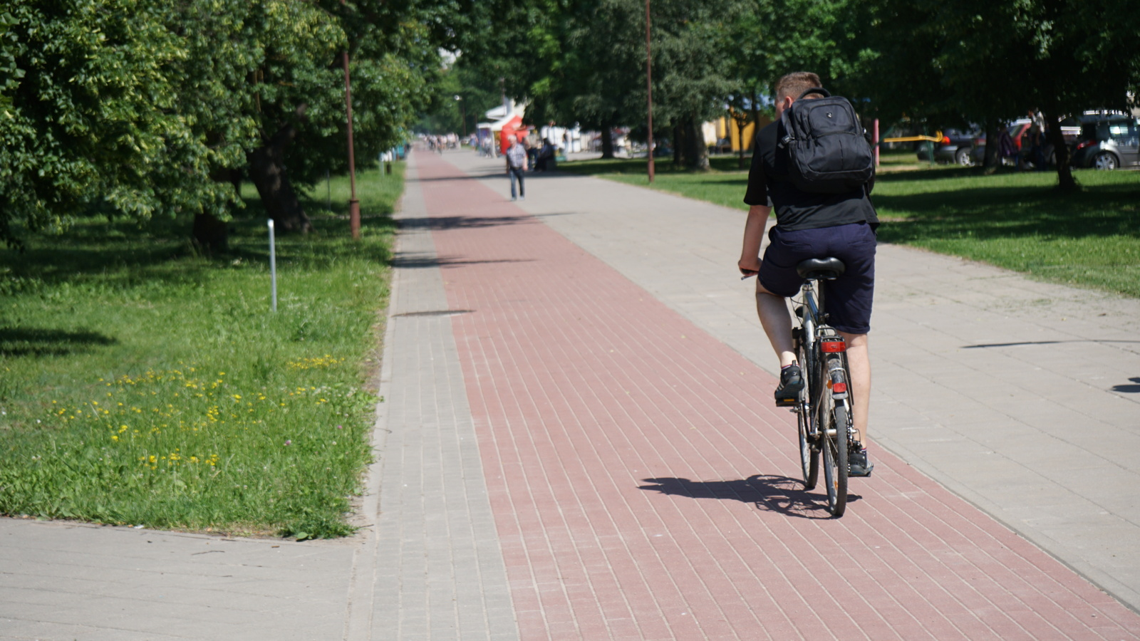 Svarstomas siūlymas įpareigoti dviratininkus sustoti ir praleisti automobilius