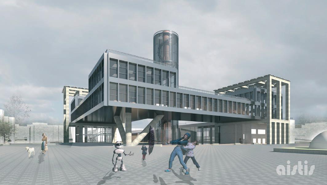 Jaunasis architektas nuskynė konkurso laurus