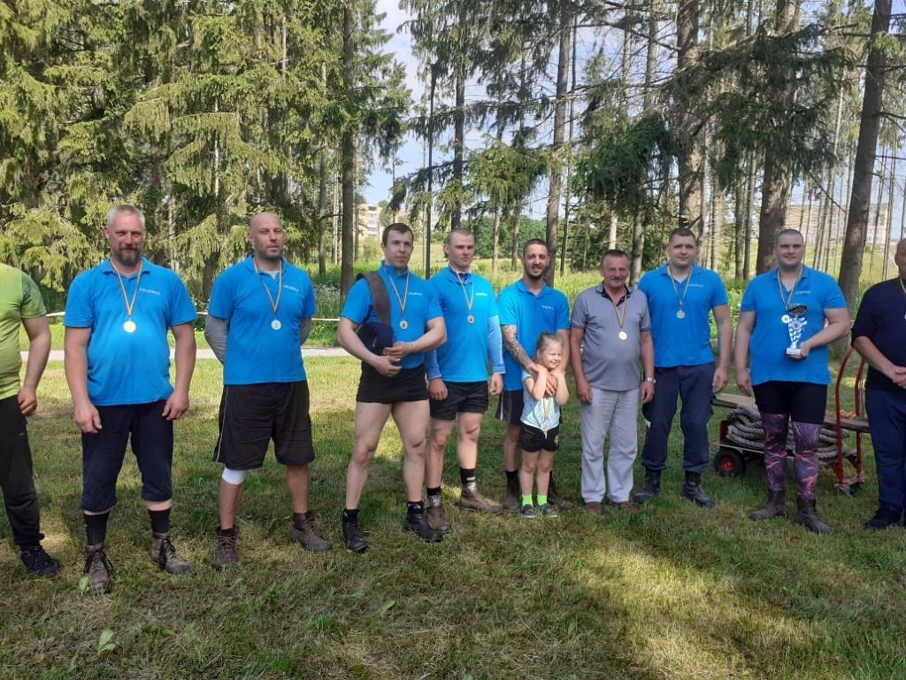 Utenos rajono seniūnijų sporto žaidynių nugalėtojos – Leliūnų ir Tauragnų seniūnijos