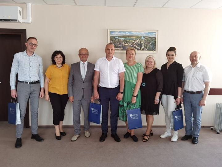 Prienuose lankėsi Ukmergės rajono savivaldybės administracijos atstovai