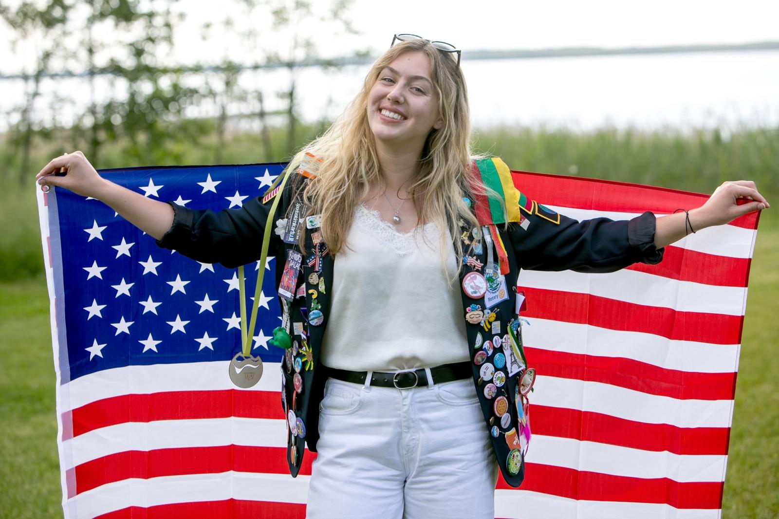 Amerikietei karantinas svečioje šalyje - dar įdomiau