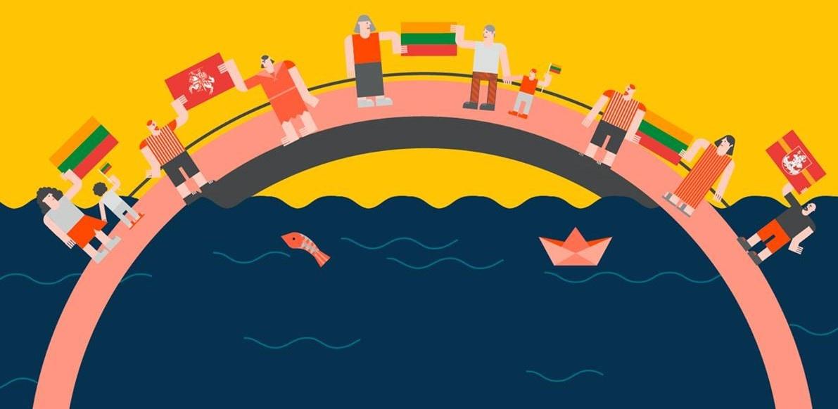 Vilnius kviečia: liepos 6 d. himną prie Neries giedosime saugiu vėliavos atstumu