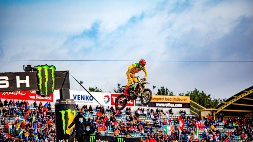 Motokroso čempionato atidaryme Anykščiuose – pasaulyje Lietuvą garsinantis A. Jasikonis