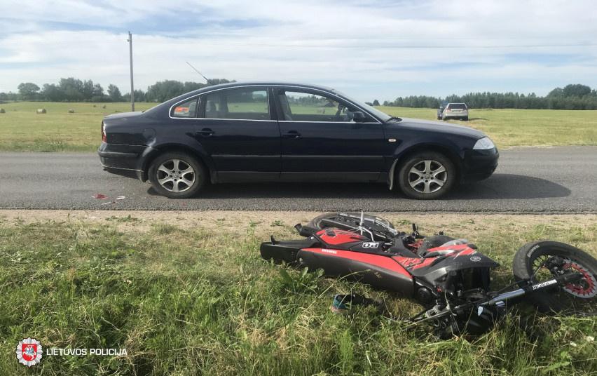 Per savaitę Lietuvoje žuvo du motociklų vairuotojai