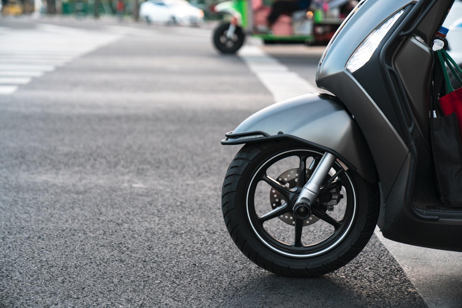 Kupiškio rajone pavogti keli motoroleriai