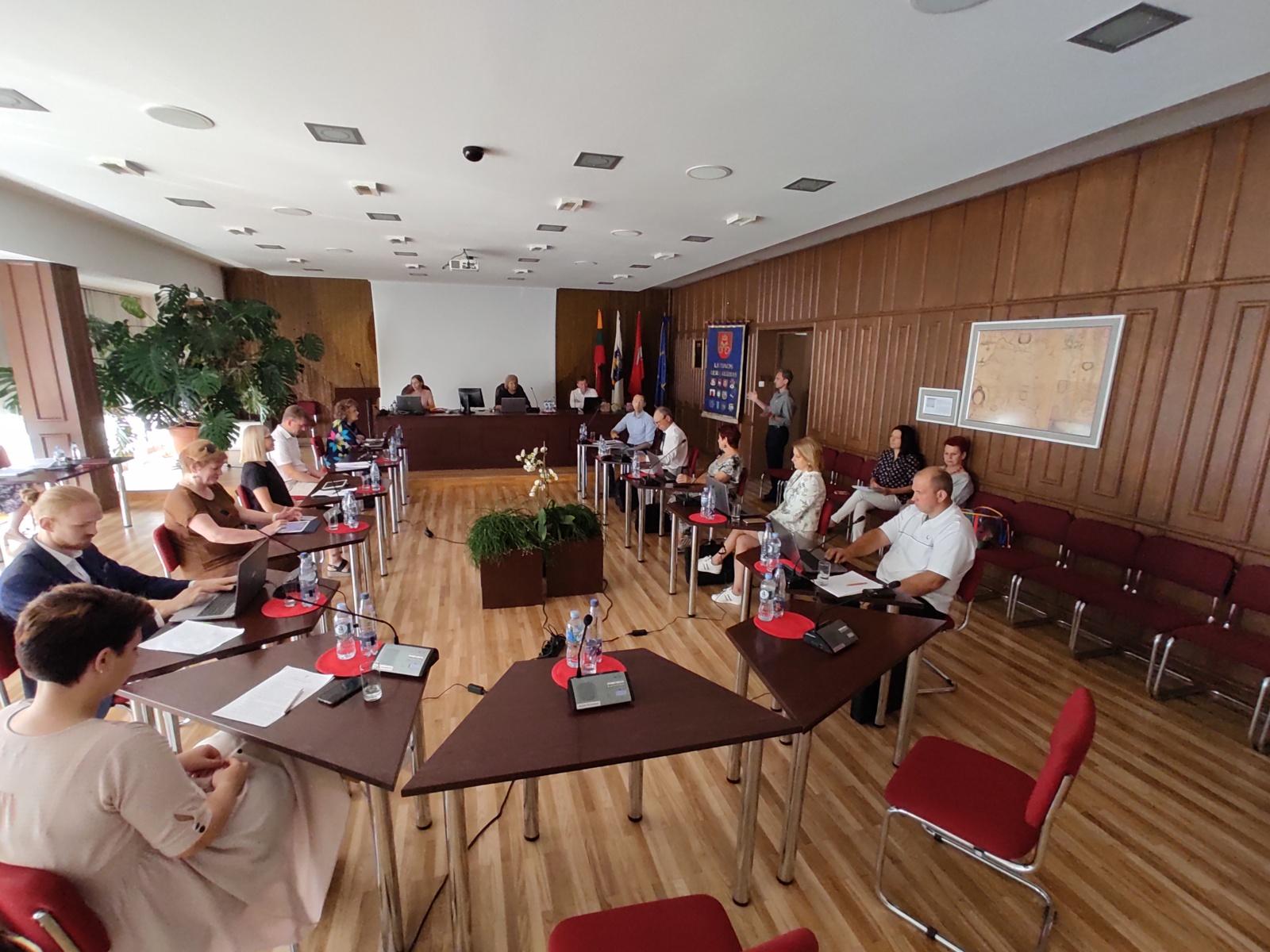 Birštono savivaldybės tarybos posėdis ir svarbiausi sprendimai