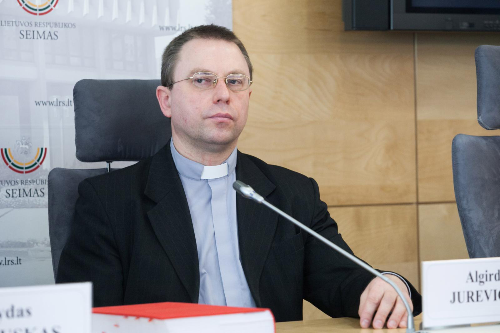 Į Telšių vyskupijos katedrą įžengs naujasis Telšių vyskupijos ganytojas vysk. A. Jurevičius