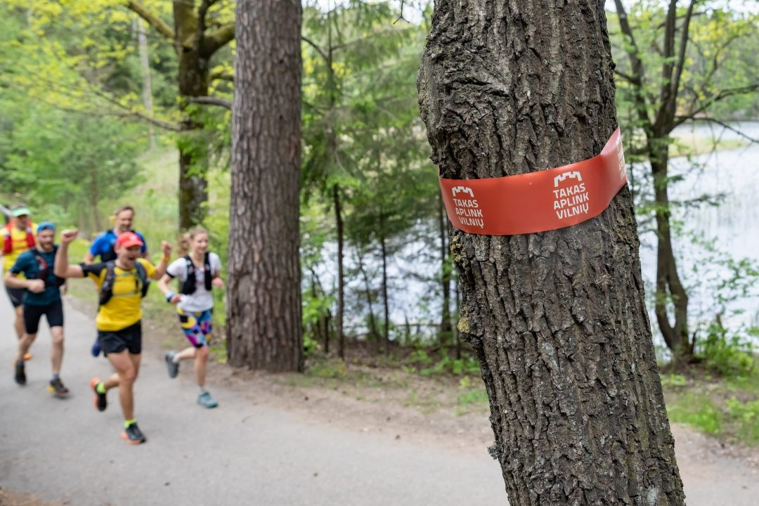 """Laikas išbandyti trasą – 100 km """"trail"""" bėgimas aplink Vilnių"""