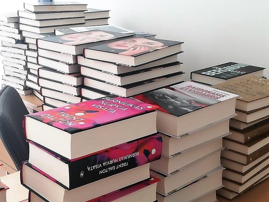 A. ir M. Miškinių viešoji biblioteka naujoms knygoms papildomai gavo 27 tūkst. eurų