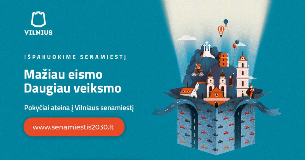 Draudimai tranzitu kirsti Vilniaus senamiestį – kitą savaitę