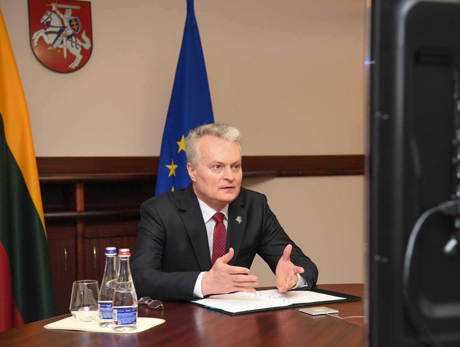 Prezidentas G. Nausėda pakvietė pasaulio lietuvius aktyviai dalyvauti Seimo rinkimuose