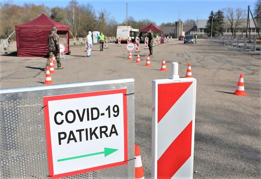 Ukmergėje uždarytas mobilus patikros dėl koronaviruso punktas