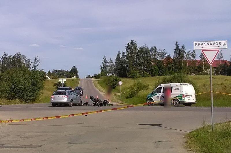 Policija ieško mačiusių įvykio Kupiškyje aplinkybes