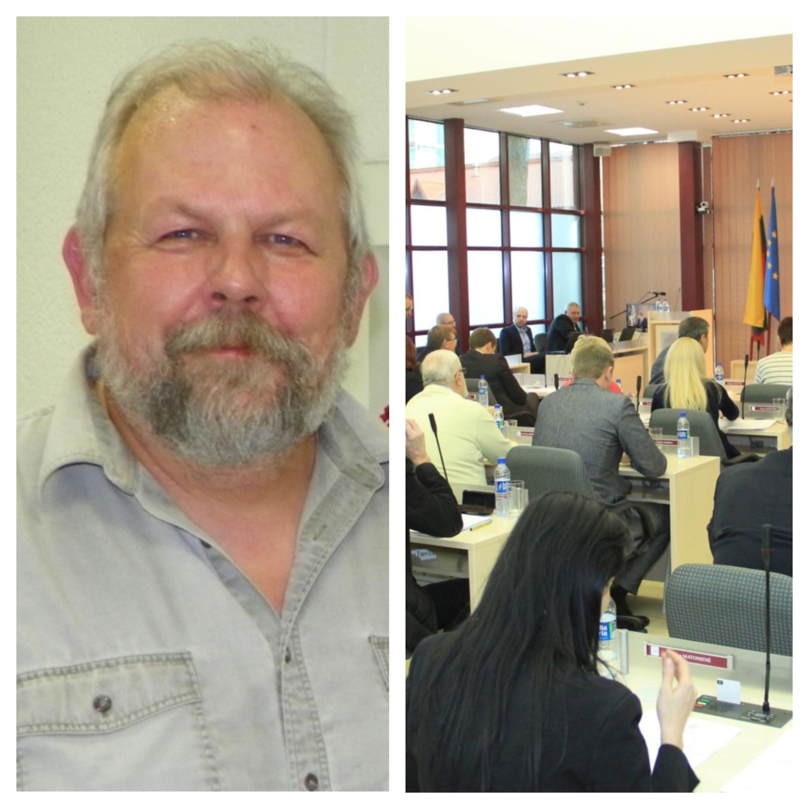 Miesto taryba iš pareigų atleido skandalais pagarsėjusį Švietimo centro vadovą