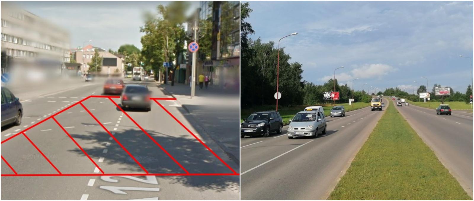 P. Cvirkos–Tilžės gatvių sankryžoje dėl vykdomų darbų bus uždaromos dvi eismo juostos