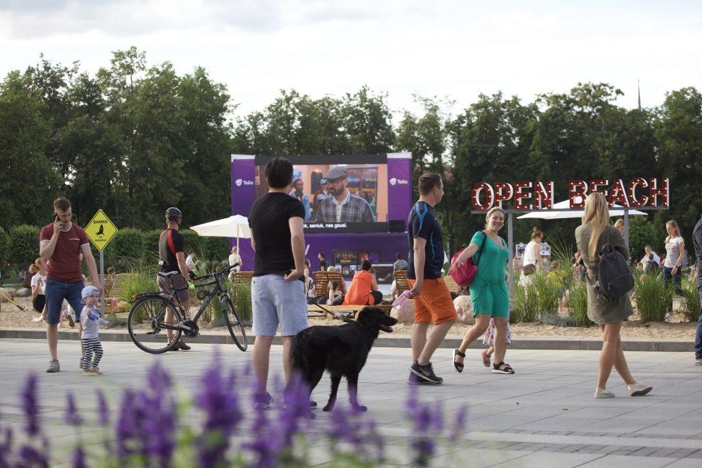 Nuo liepos 6-osios Lukiškių aikštėje – istorinių lietuviškų filmų savaitė