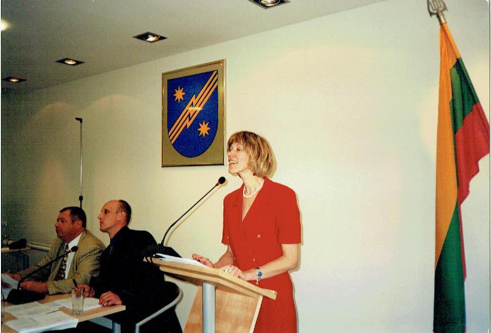 Pirmosios dienos savivaldybės administracijoje