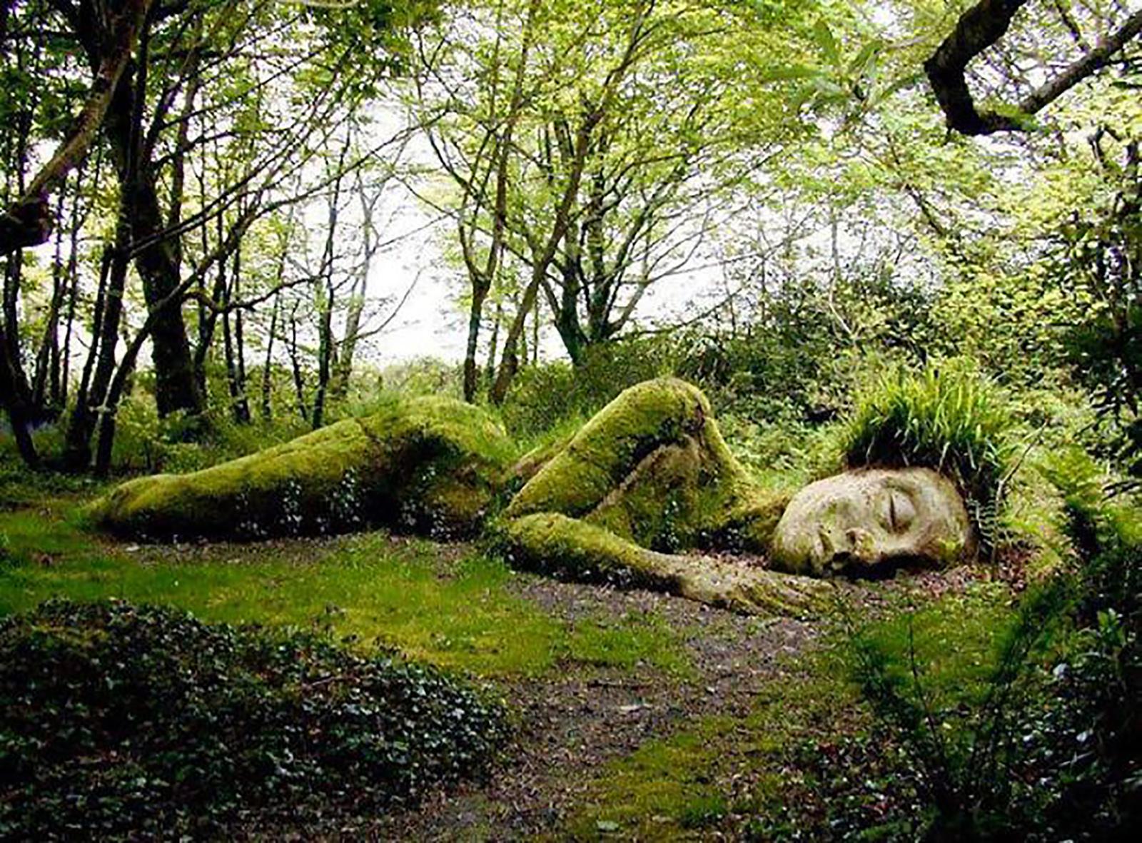Neįtikėtina gyvoji skulptūra išvaizdą keičia kartu su metų laikais