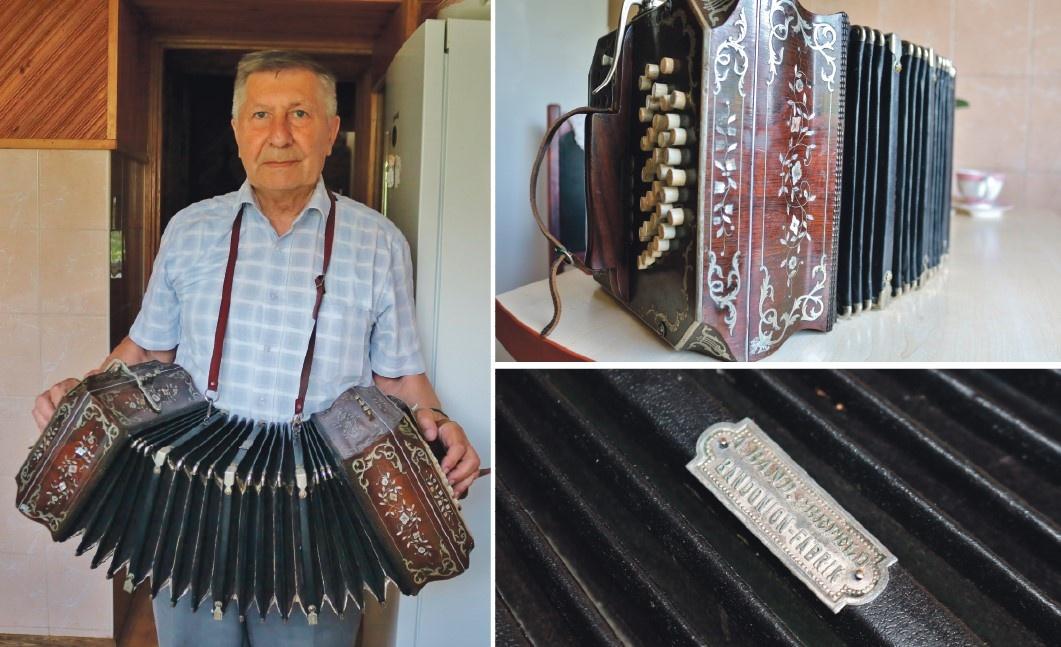 Giminės ryšys su muzika – senelio staliaus palikimas