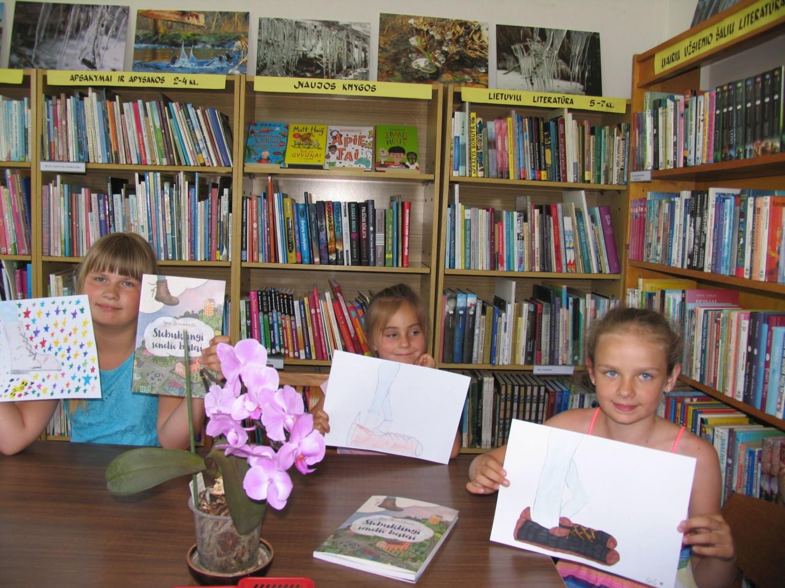 Vasaros skaitymai Tiltų bibliotekoje