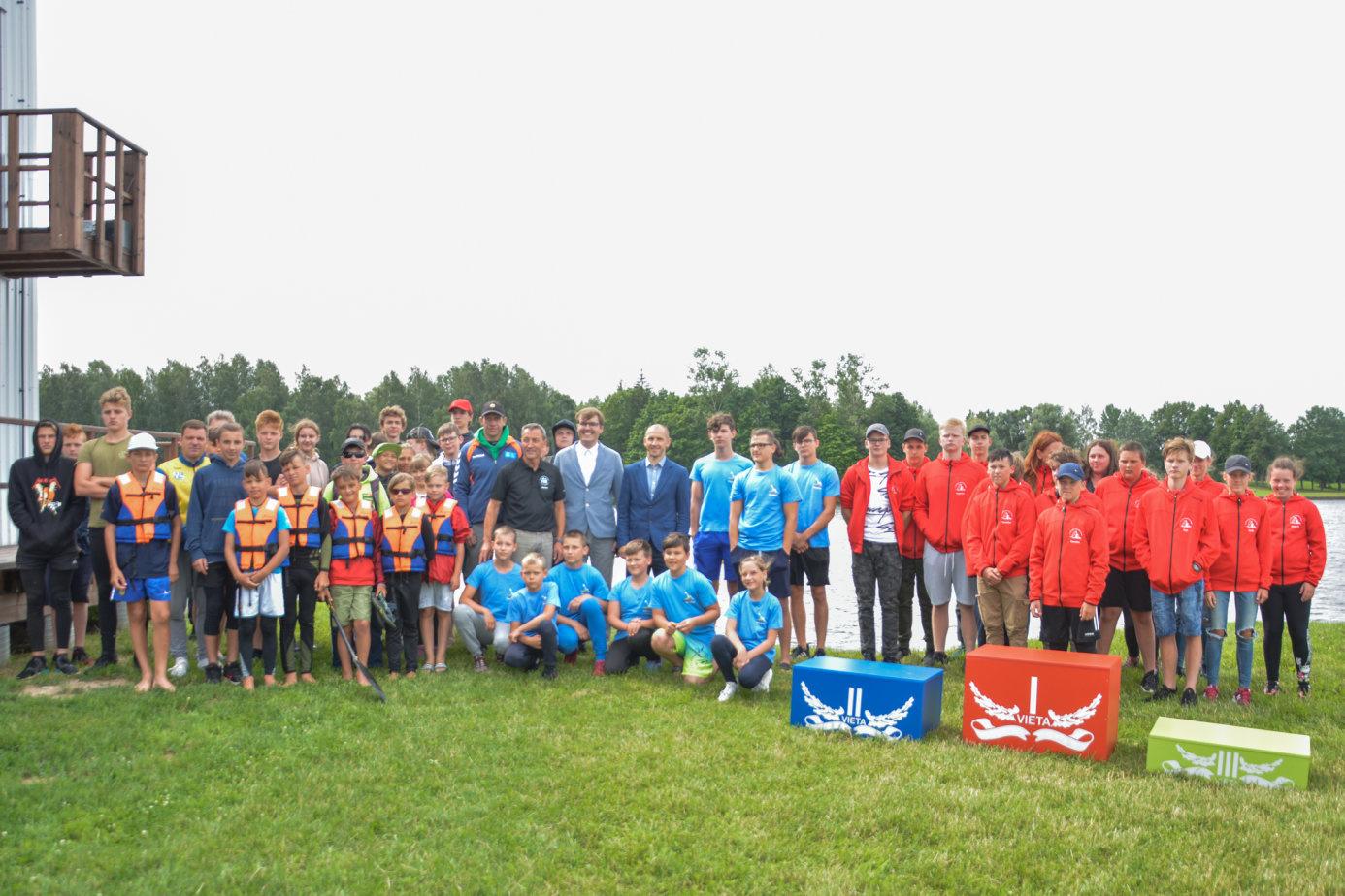 Marijampolės sporto centro irklavimo bazėje – Pasaulio čempiono Egidijaus Balčiūno taurės varžybos