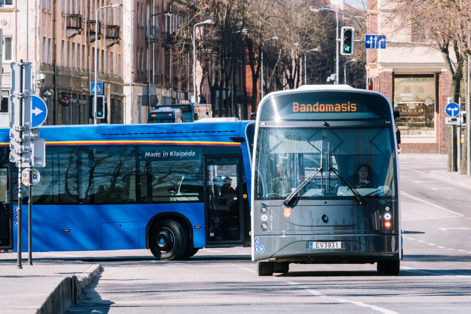 Elektriniai autobusai – netolima Klaipėdos ateitis