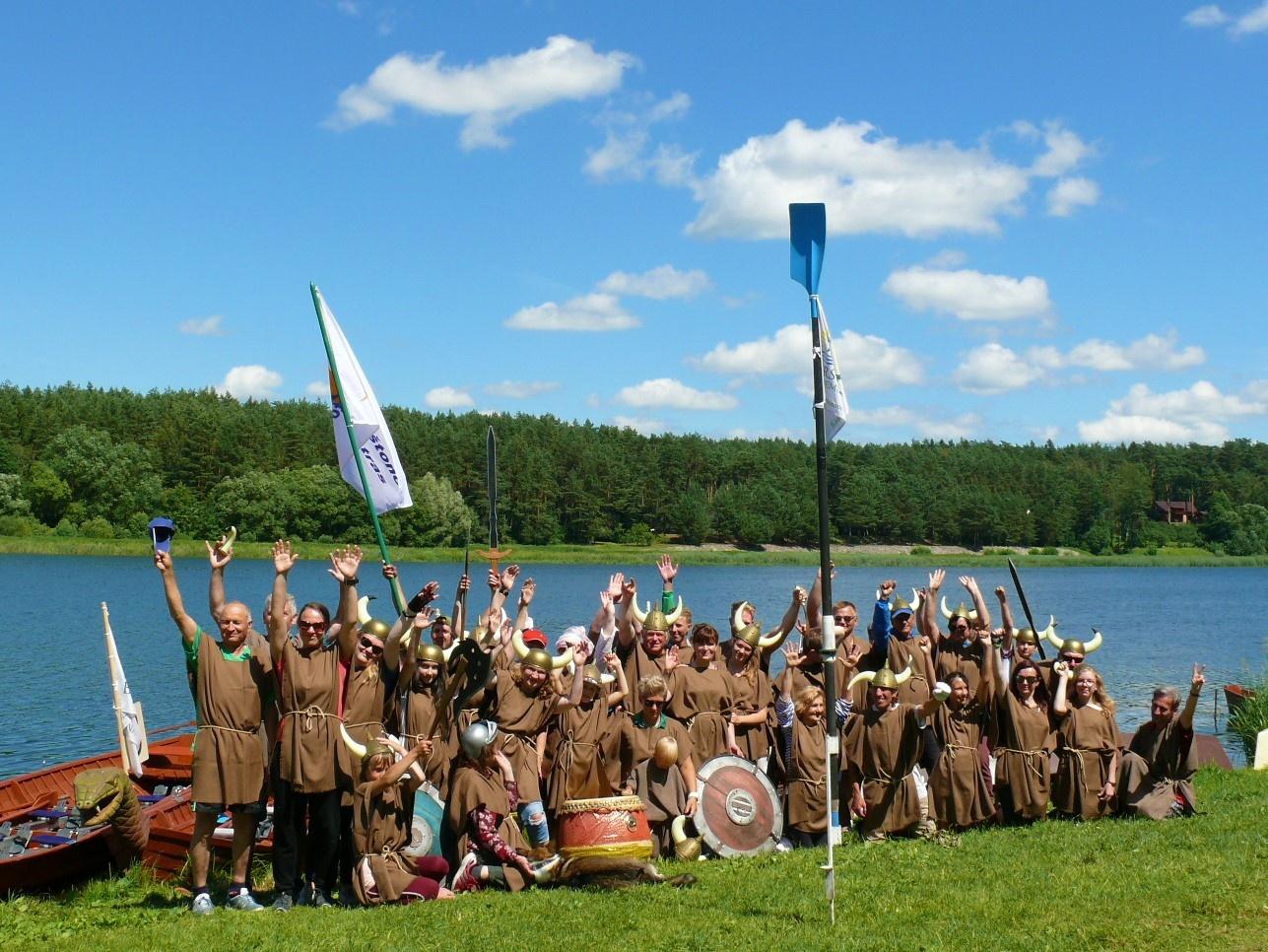 Į žygį Nemunu – su vikingų laikų dvasia