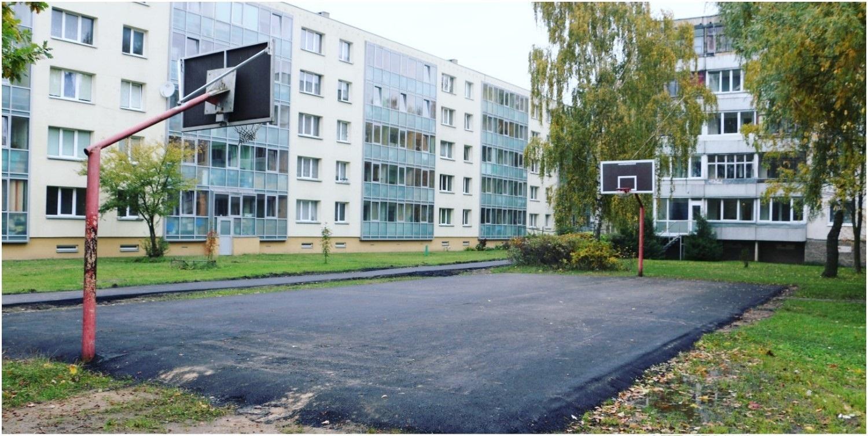 Džiugi žinia alytiškiams: atnaujinamos krepšinio aikštelės