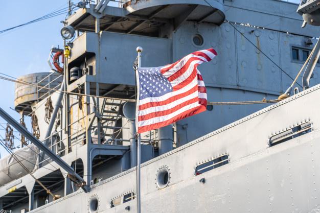 JAV per gaisrą desanto laive sužeistas 21 žmogus
