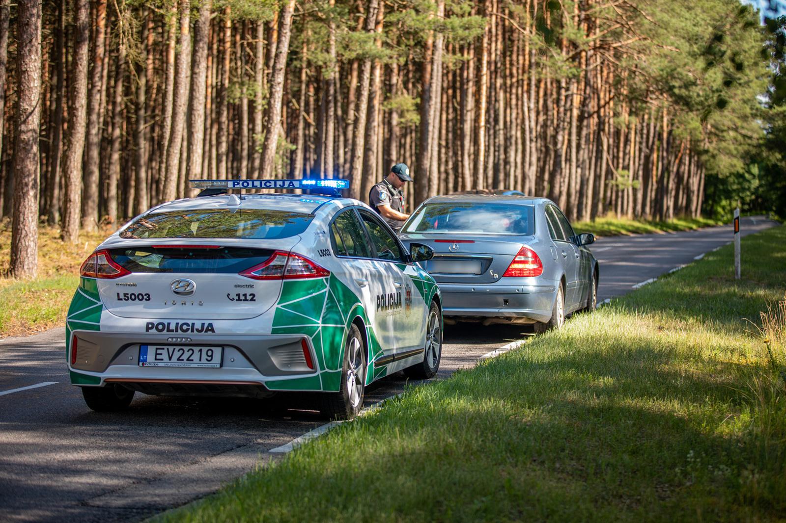 Klaipėdos Kelių policijos pareigūnams vėl įkliuvo penki neblaivūs vairuotojai