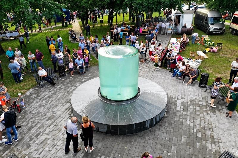 Butrimonių fontanas vėl trykšta, šį kartą – su daugiau paslaugų