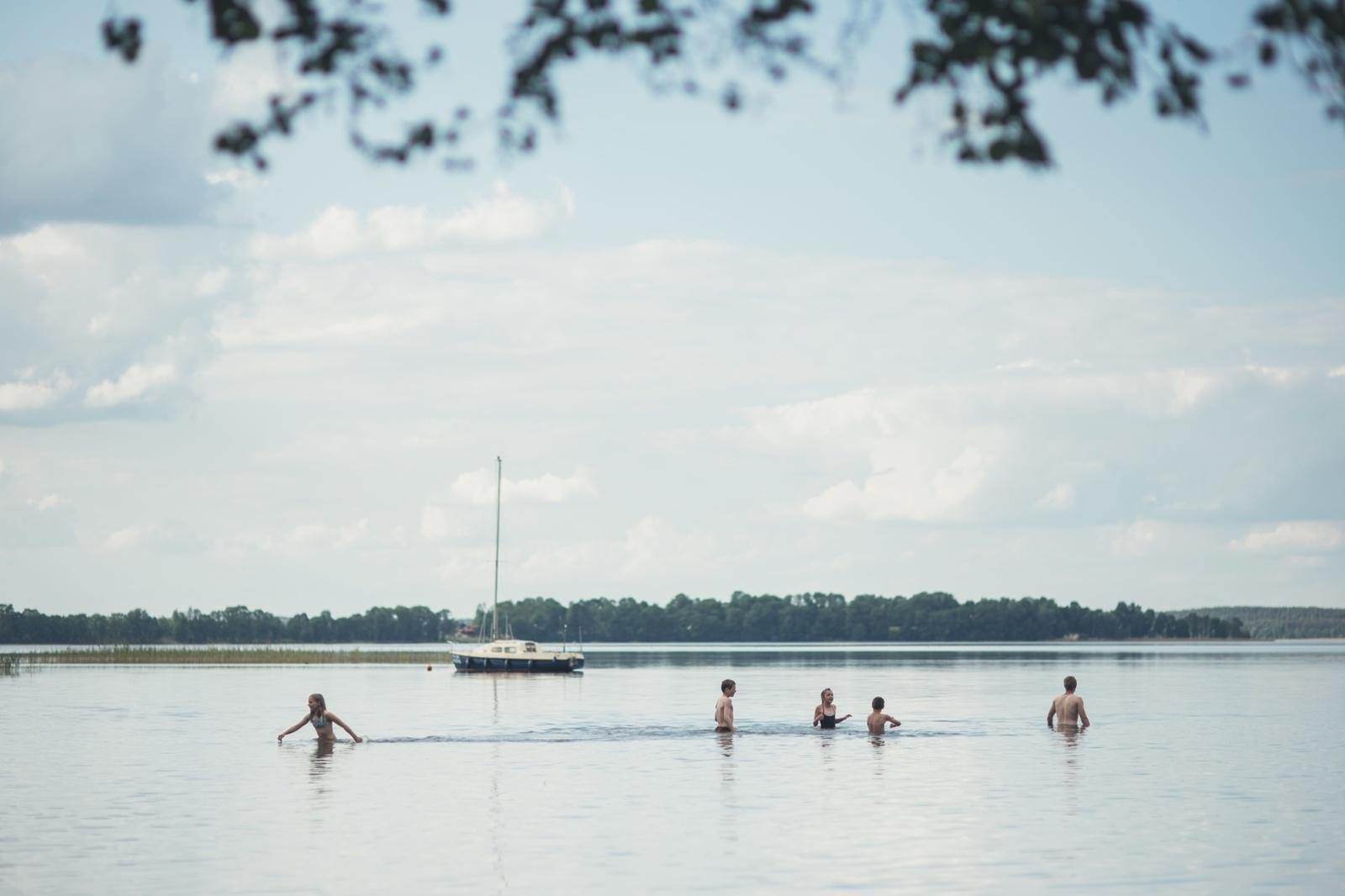 Trijose Alaušo, Tauragno ir Dauniškio ežerų maudyklose maudytis nerekomenduojama