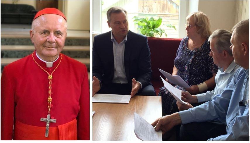 14-uoju Alytaus rajono Garbės piliečiu siūlomas kardinolas