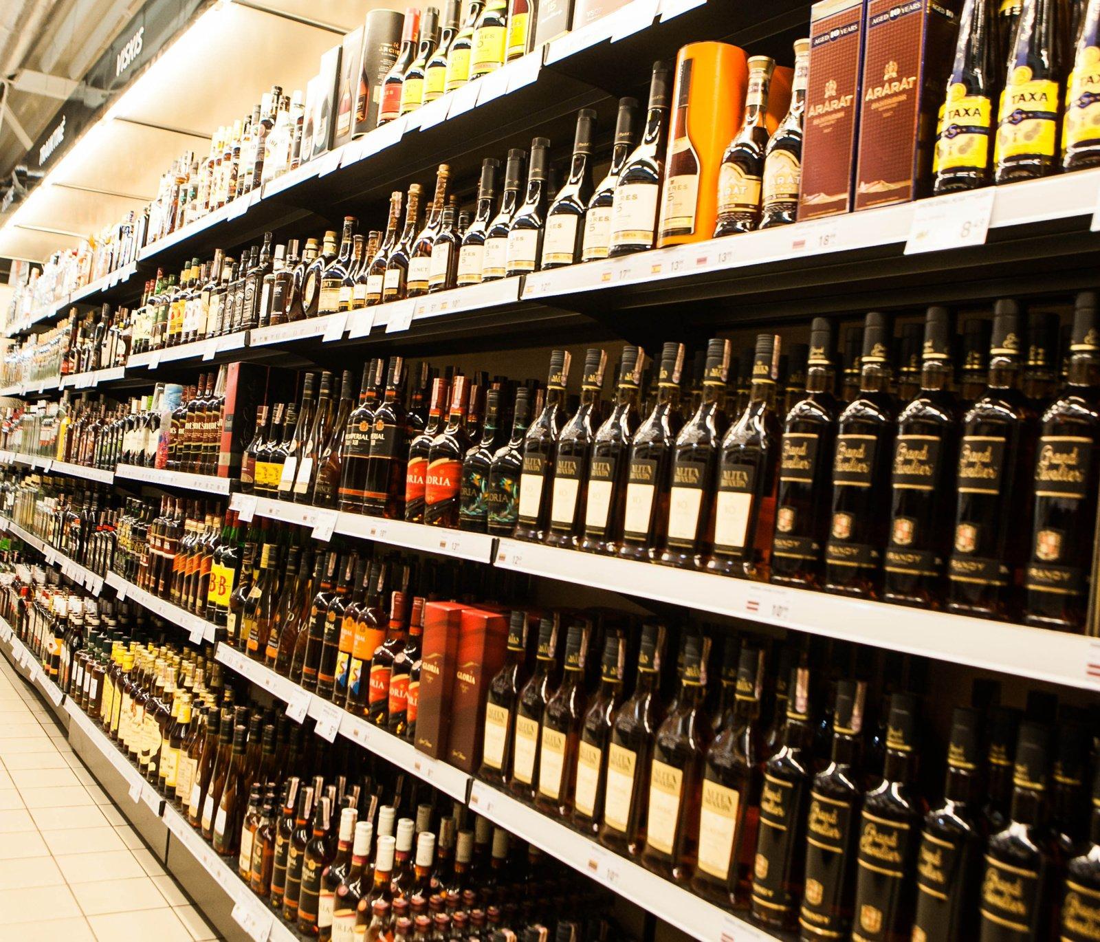 Nuo lapkričio – dar vienas su alkoholiu susijęs draudimas