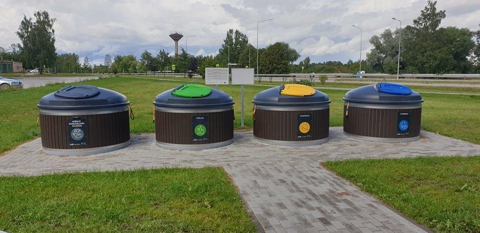 Radviliškio rajono savivaldybės teritorijoje pradedamos naudoti naujos pusiau požeminės atliekų surinkimo aikštelės