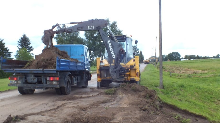 Gineikių kaimas turės daugiau asfalto