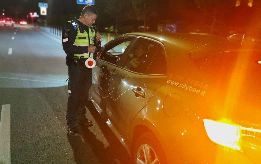 Kauno apskrityje ypatingo policijos dėmesio sulaukė vairuojantieji trumpalaikės nuomos automobilius