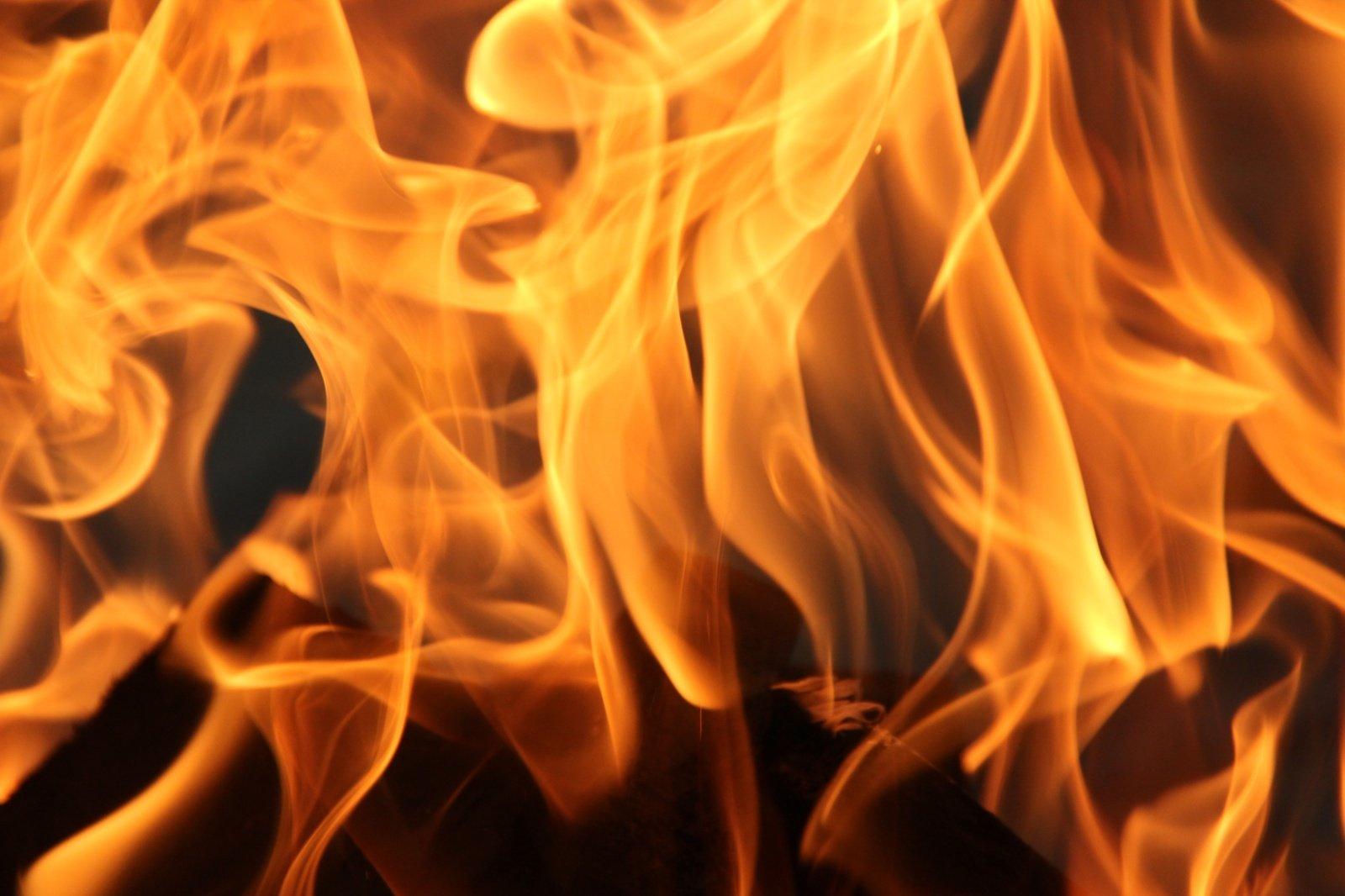 Kėdainių rajone grūdų džiovykloje kilo gaisras