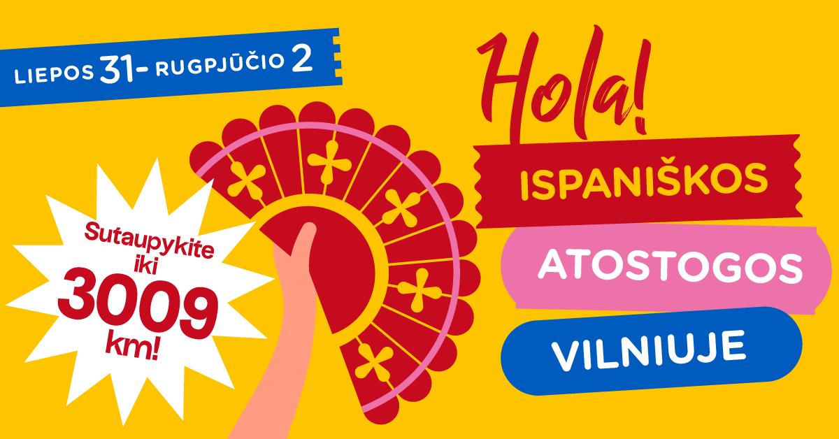"""Šį savaitgalį Vilniuje pakvips pomidorais ir aliejumi: vyks """"Ispaniškos atostogos"""""""