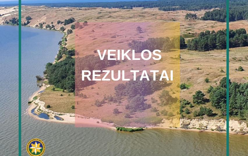 Klaipėdos ir Šilutės gyvosios gamtos apsaugos inspektoriai per pusmetį išaiškino 500 pažeidimų