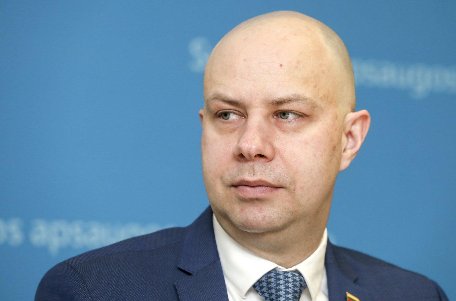 Sveikatos apsaugos ministras A. Veryga savaite susitrumpins atostogas