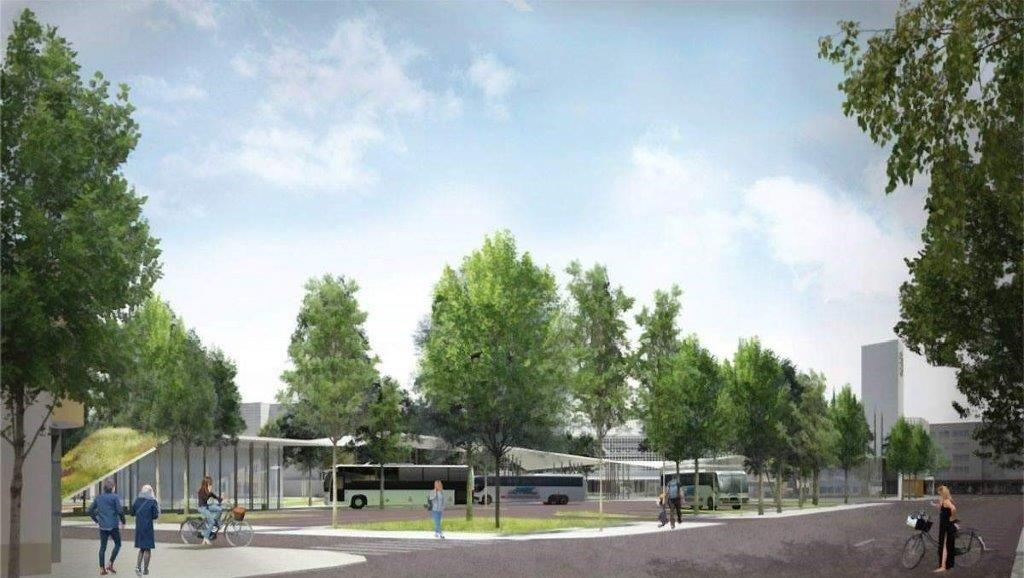 Jau parengtas Panevėžio autobusų stoties projektinis pasiūlymas