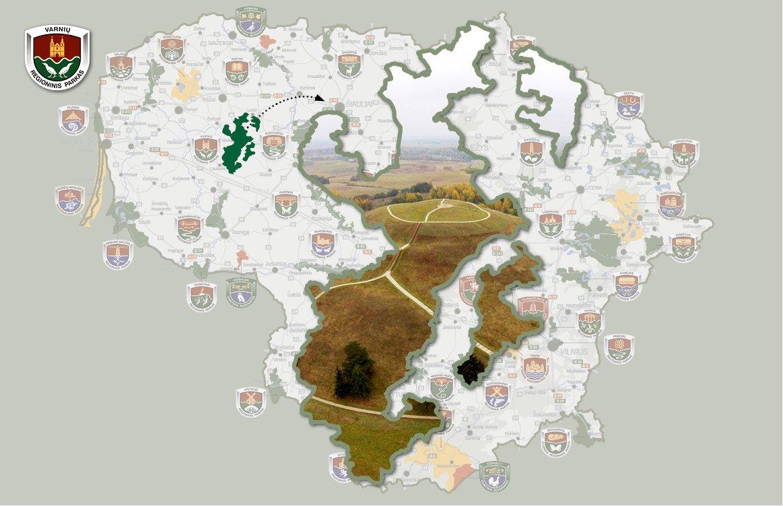 Varnių regioninis parkas: nuo Medvėgalio iki Šatrijos