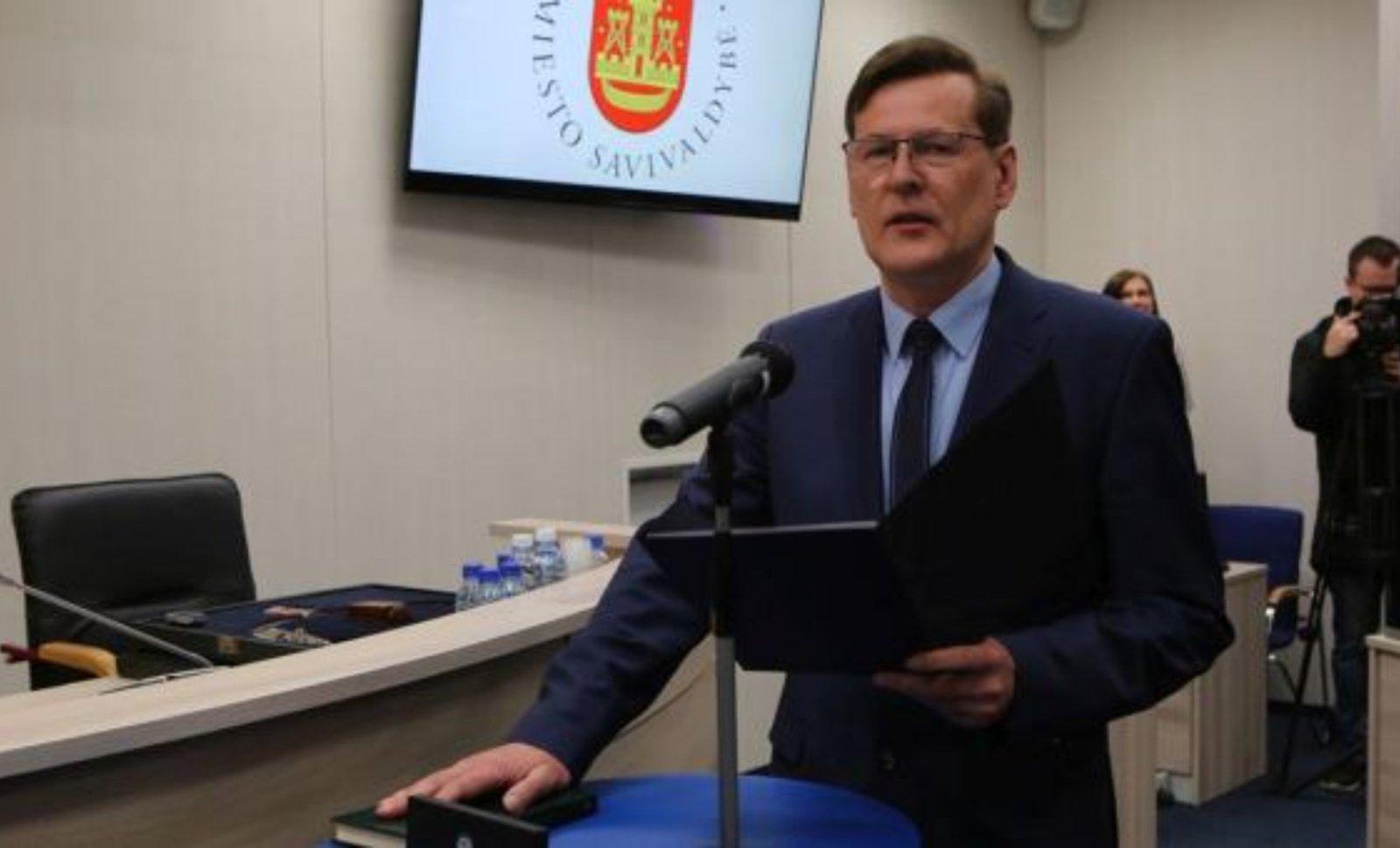 Klaipėdos opozicija inicijuoja nepasitikėjimą vicemeru A. Barbšiu