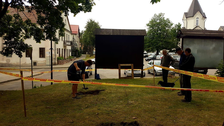 Merkinėje pradedami archeologiniai tyrimai