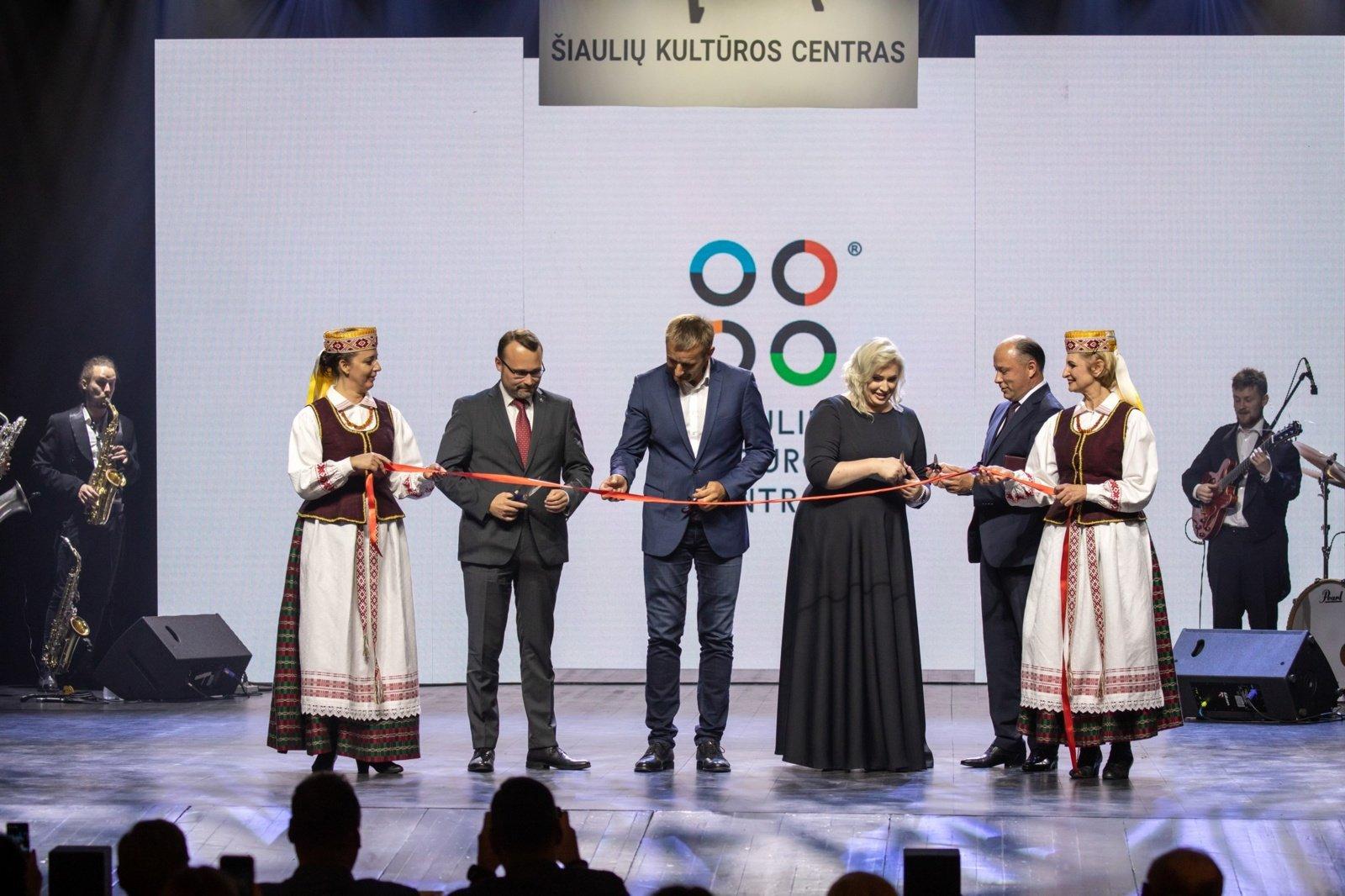 Oficialiai atidarytas Šiaulių kultūros centras