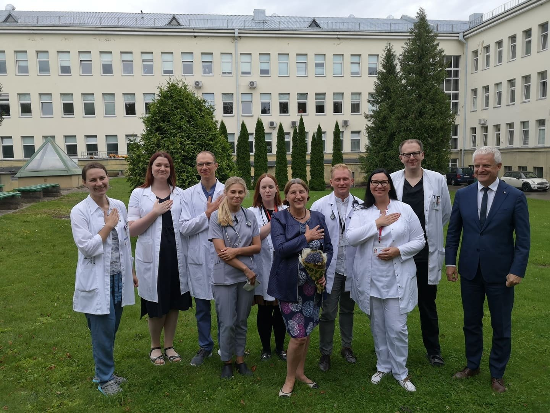 Respublikinėje Šiaulių ligoninėje – neeilinė diena: medikų gretas papildė šeši kardiologai