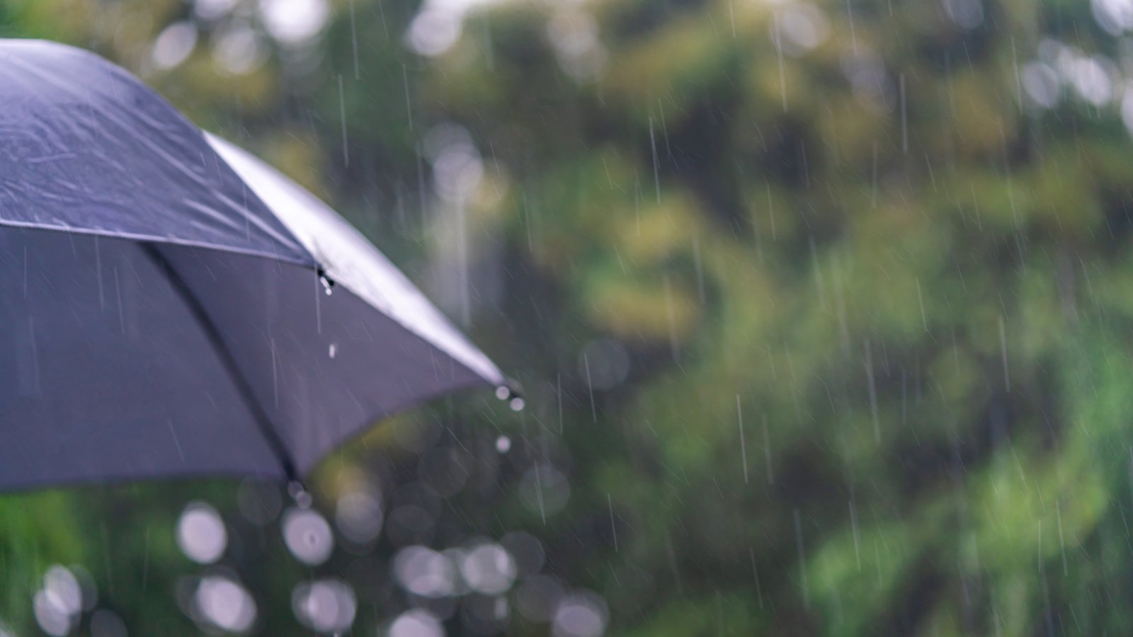 Antradienio popietę kai kur šalyje prognozuojamas stiprus lietus