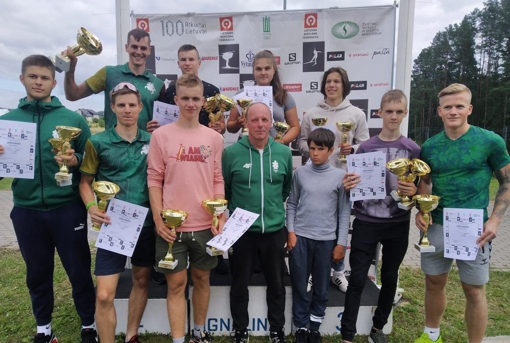 Anykščių biatlonininkai sėkmingai pradėjo naują sezoną