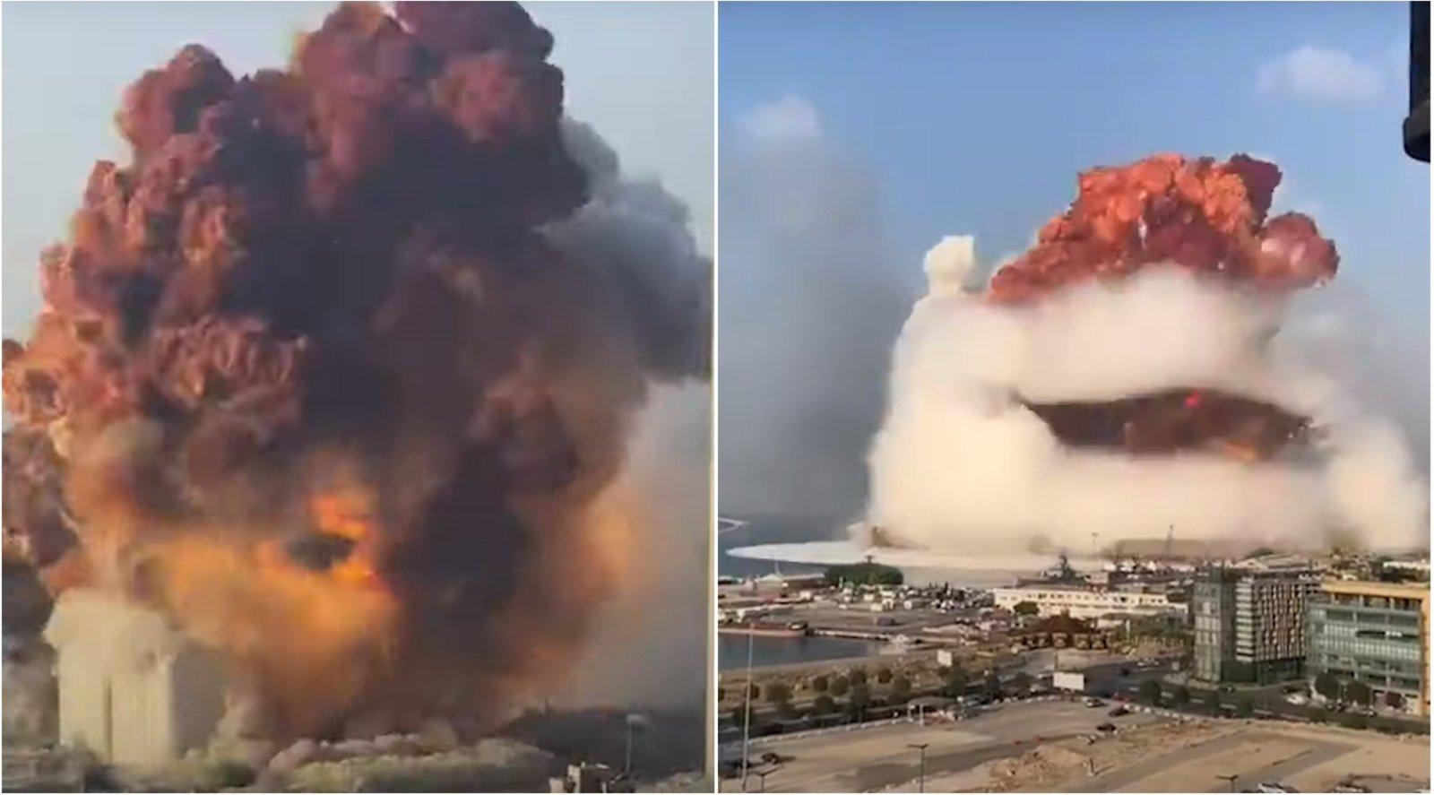 Sprogimo Beirute aukų padaugėjo iki 113, dar dešimtys žmonių dingę